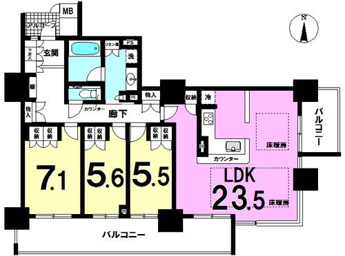 大阪福島タワーの物件画像