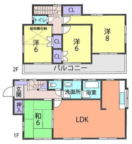 加須市根古屋 中古一戸建ての物件画像