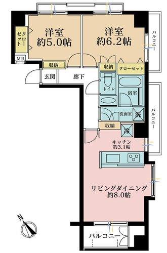 東急ドエル・アルス渋谷八幡坂の物件画像