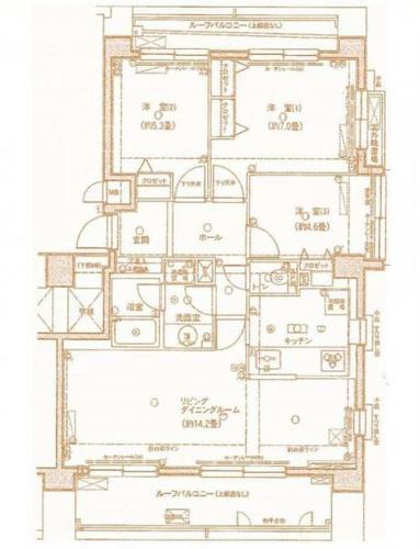 最上階の角部屋! アドリーム南柏の画像