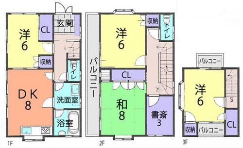 さいたま桜区下大久保 中古住宅の画像