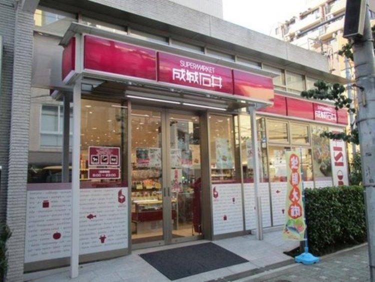 成城石井東麻布店まで150m。成城石井は関東地方を中心に、中部地方、近畿地方に店舗を展開する高品質な食料品主体のスーパーマーケットチェーン。