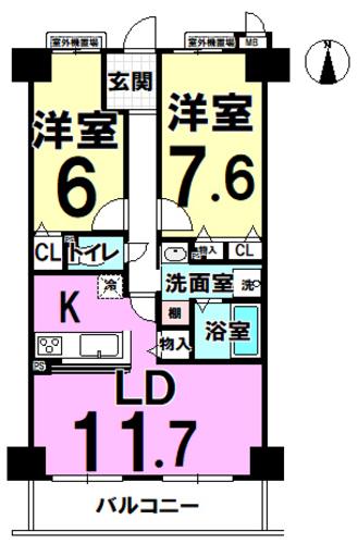 ユニハイム平野駅前の物件画像
