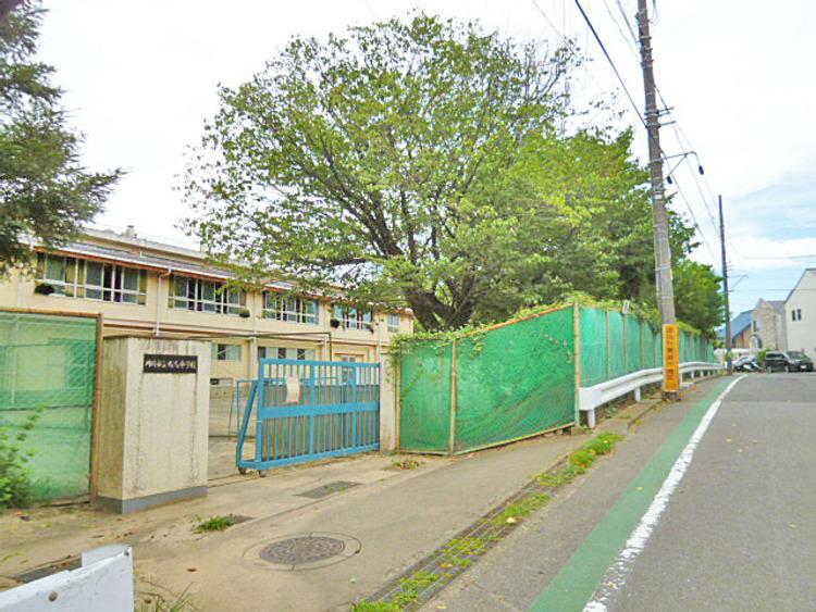 川崎市立有馬中学校 距離1300m