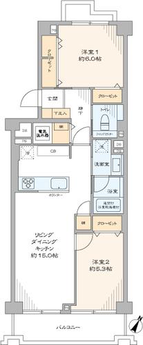 上野毛リッツハウスA棟の物件画像