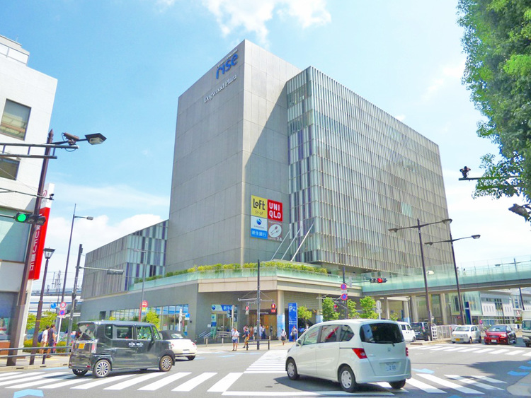 東急田園都市線・大井町線「二子玉川」駅 距離640m