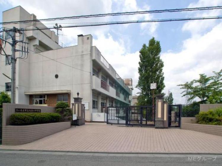 さいたま市立大谷口中学校 350m