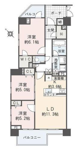 オープンレジデンシア目黒青葉台(テラスA棟6--)の物件画像