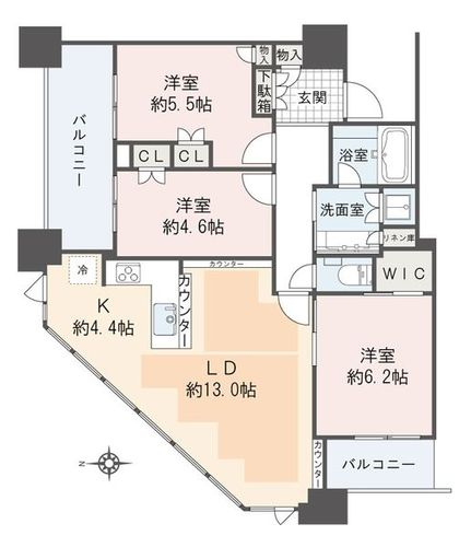 プラウドタワー千代田富士見(10--)の画像