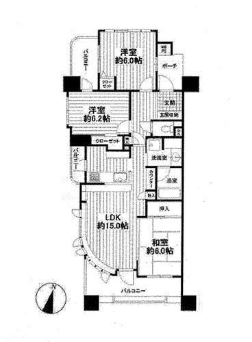 レクセルマンション京王堀之内の画像