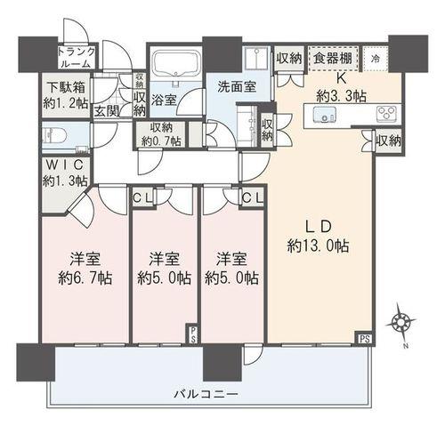 パークシティ中央湊ザタワー(33--)の画像