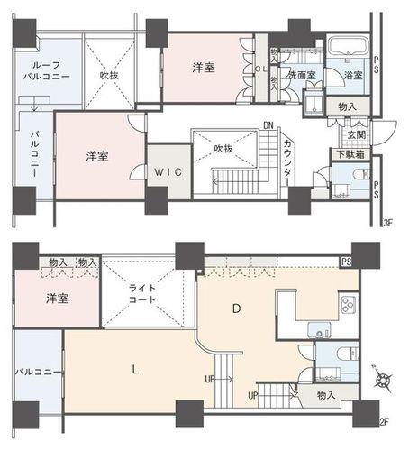 ザ・パークタワー東京サウス(303)の物件画像