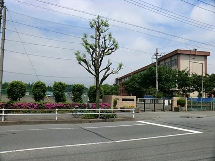 楢原中学校 1180m