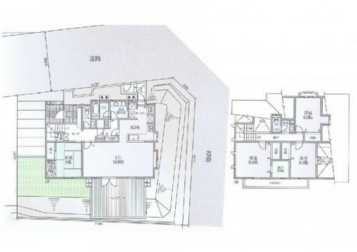 横浜市都筑区南山田3丁目 一戸建て住宅(中古)の画像