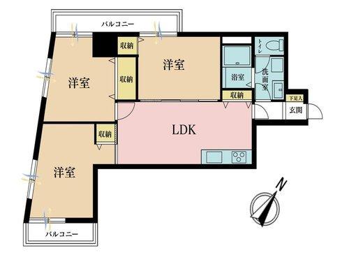 セブンスターマンション三軒茶屋の画像