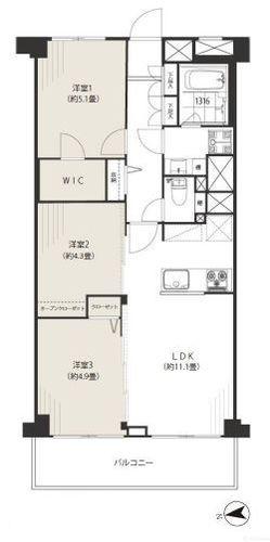 久我山スカイマンション南棟(202)の画像