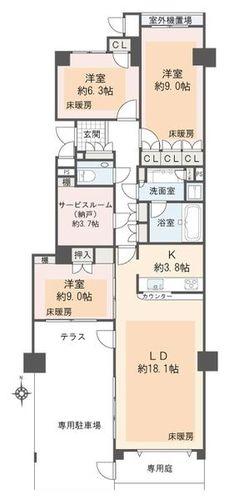イッツ東京フォーサイトスクエア(1--)の画像
