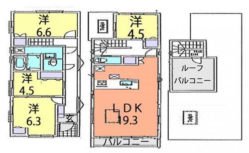 川口市中青木1丁目 中古住宅の画像
