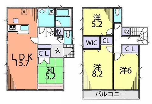 富士見市水子 中古住宅の物件画像