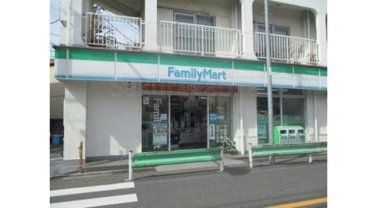 ファミリーマート緑が丘一丁目店まで620m。「あなたと、コンビに、ファミリーマート」 「来るたびに楽しい発見があって、新鮮さにあふれたコンビニ」を目指しています。