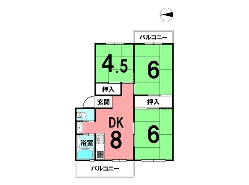 大開厚生年金住宅B棟の画像