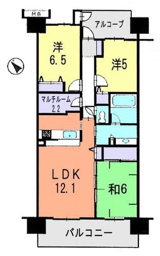 シティアA棟の画像