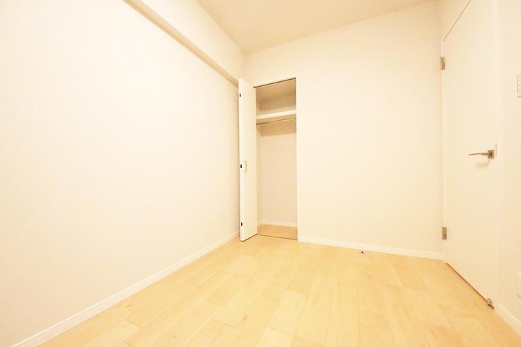 全居室に収納スペースを完備しています