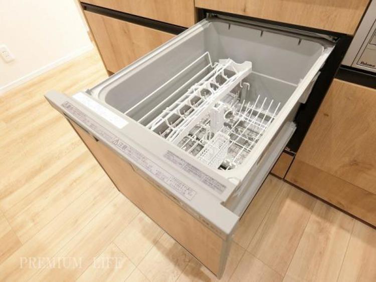 生活にゆとりの時間を生み出す食洗機。手荒れも予防できます。