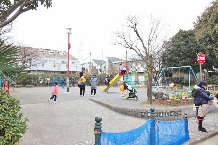高田ひまわり公園 距離600m