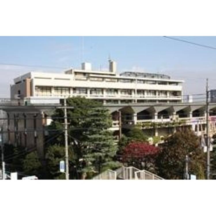 川口市役所(約720m)