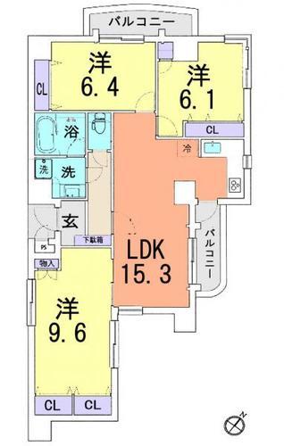 キャッスルマンション戸田の画像