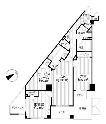 ガーデンホーム東寺尾ヒルズの画像