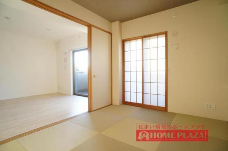 一部屋あると嬉しい和室。琉球風の畳がお洒落です!