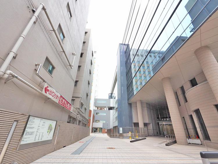 帝京大学溝口病院 距離850m