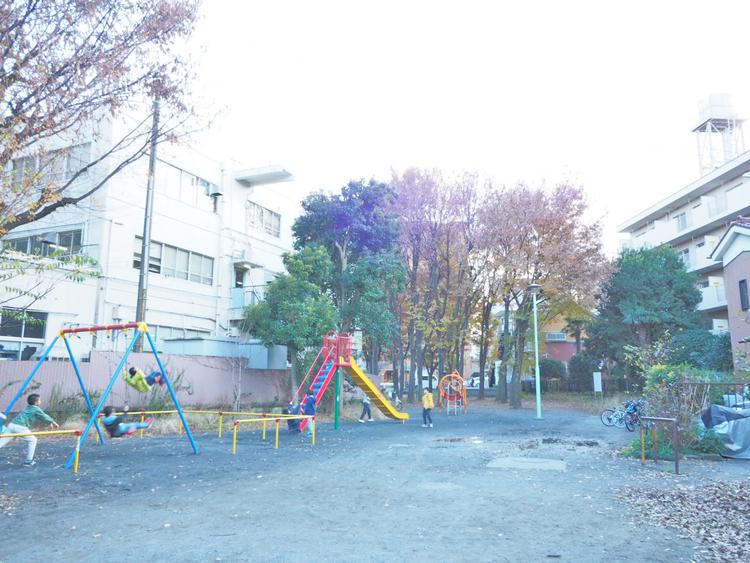 二子坂戸緑道(みどり公園) 距離550m