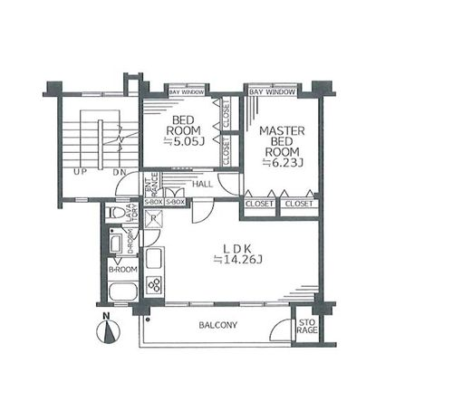 多摩川住宅ホ8号棟の画像