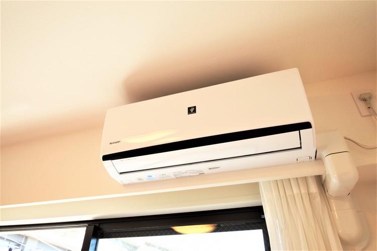 エアコンを新規設置、夏は涼しく、冬は暖かく過ごせます