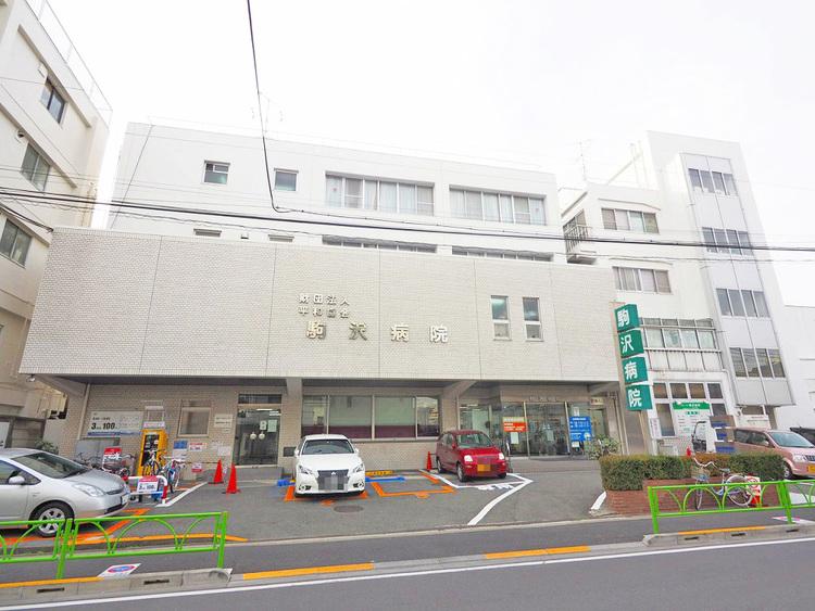 駒沢病院 距離800m