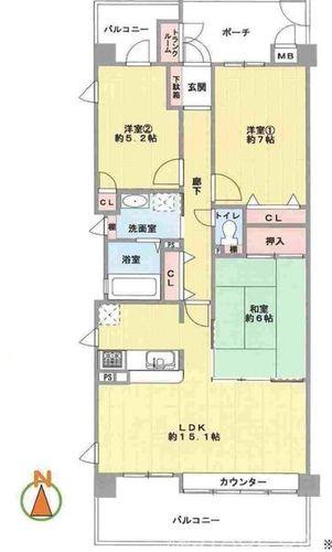 メゾンドール三国ヶ丘(407)の画像