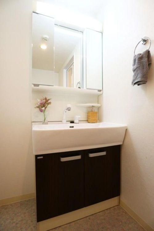 「洗面室」洗面台新規交換