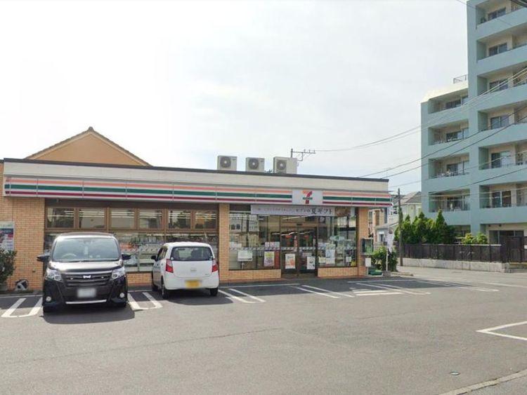 セブンイレブン藤沢片瀬5丁目店 徒歩2分 120m