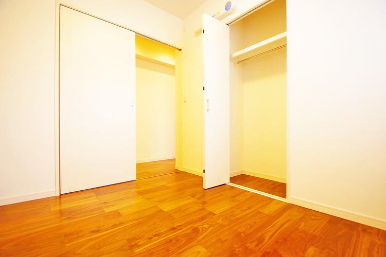 全居室に収納スペース有