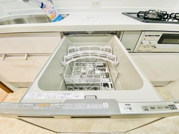 食器洗乾燥機は時間短縮につながる強い味方です。
