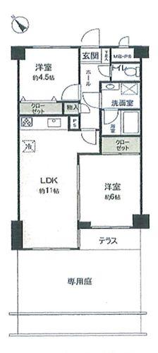 ライオンズマンション上野毛第3の物件画像