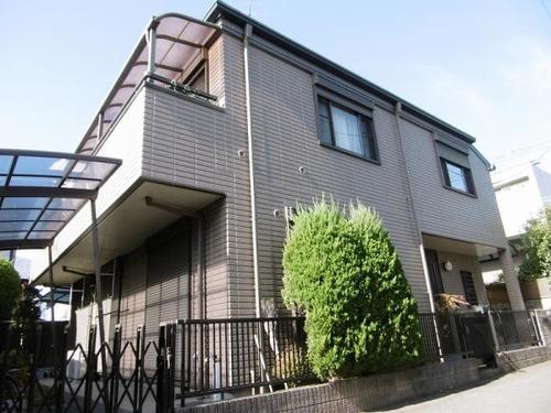 旭化成ヘーベルハウス旧施工の2世帯住宅の画像