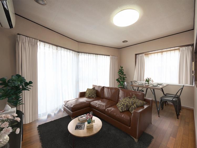 ※家具はイメージです。中古物件の魅力はやはりなんと言っても価格です。価格と見合う物件かどうか、現地を見てから判断する必要があります。