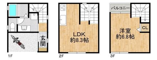 大阪市西区九条南1丁目の画像