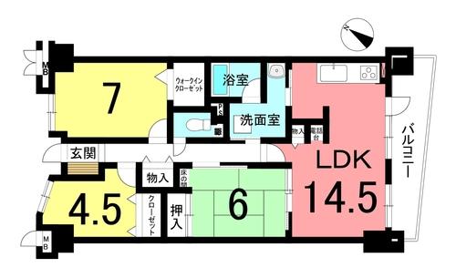 サンマンションアトレ横須賀の物件画像