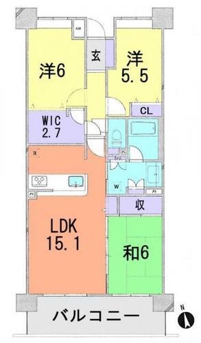 クレストフォルム松戸ウッドスクエアの物件画像