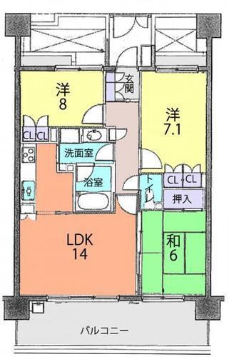 クリオ川越弐番館の画像